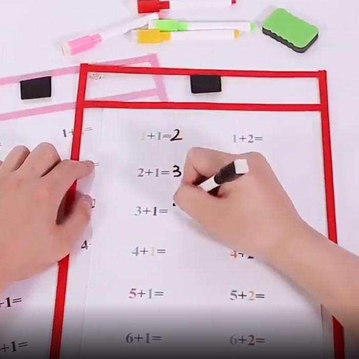 Папка для занятий «Пиши и стирай»